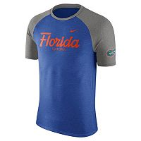 Men's Nike Florida Gators Script Raglan Tee