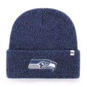 Adult '47 Brand Seattle Seahawks Brain Freeze Cuffed Knit Cap