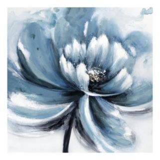 Aqua Blush III Light Canvas Wall Art