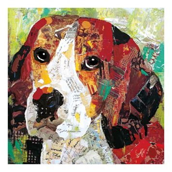 Dog Beagle Canvas Wall Art