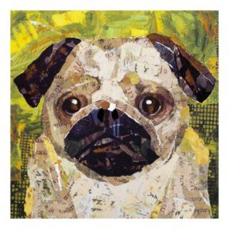 Dog Pug Canvas Wall Art