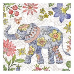 Elephant 2 Canvas Wall Art