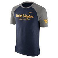 Men's Nike West Virginia Mountaineers Script Raglan Tee