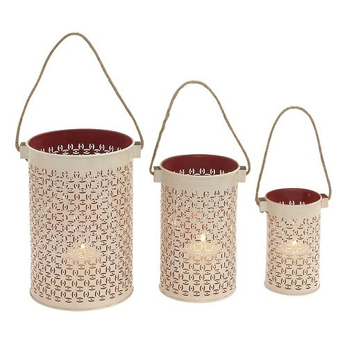Lantern Candle Holder 3-piece Set