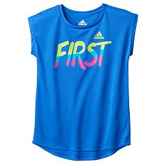 Girls 4-6x adidas climalite Graphic Tee