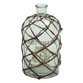 Glass Bottle Vase Table Decor