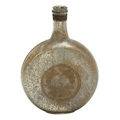 Distressed Bottle Vase Table Decor