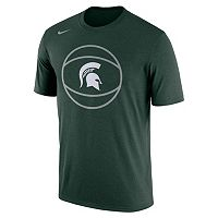 Men's Nike Michigan State Spartans Legend Basketball Tee