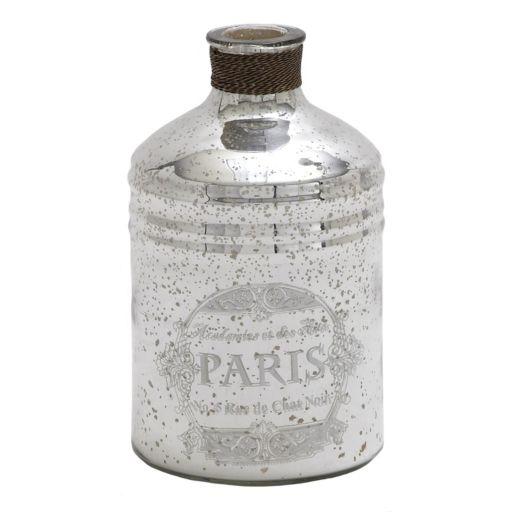 """""""Paris"""" Glass Bottle Table Decor"""