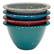 Zak Designs Confetti Fresh 4 pc Prep Bowl Set
