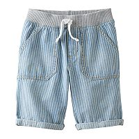 Boys 4-10 Jumping Beans® Rolled Cuff Denim Shorts