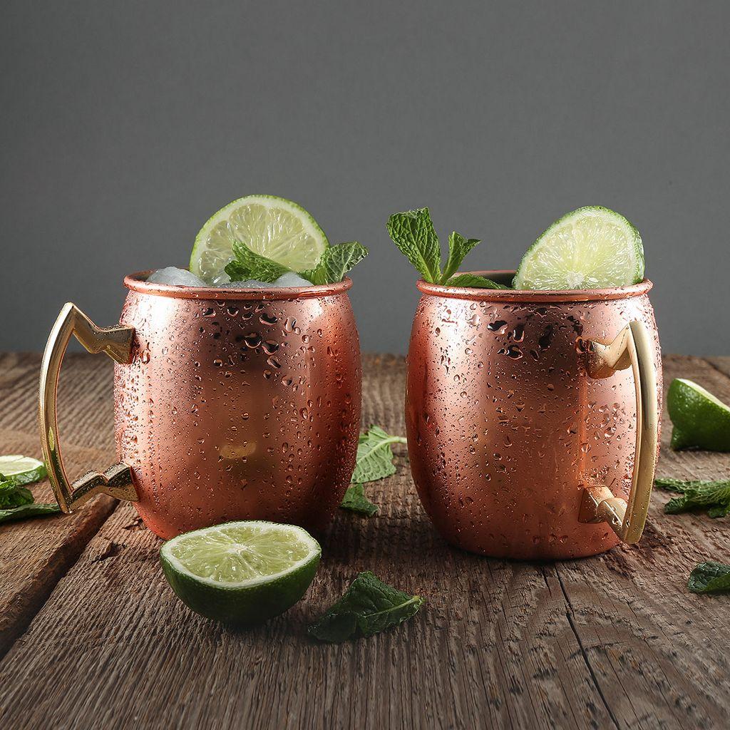 Cambridge 4-pc.. Copper Moscow Mule Mug Set