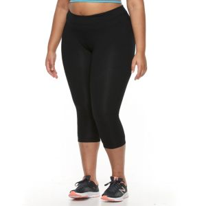 Plus Size Tek Gear® Basic Capri Leggings