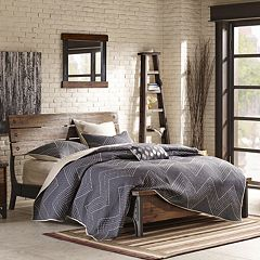INK+IVY Lancaster Industrial Bed