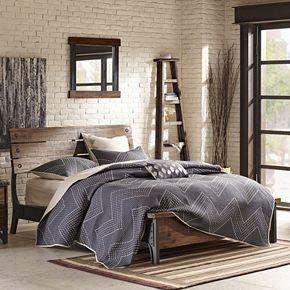 INK+IVY Lancaster Industrial Bed