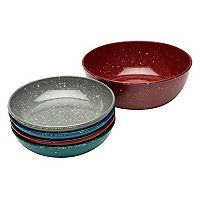 Zak Designs Confetti 5-pc. Pasta Bowl Set