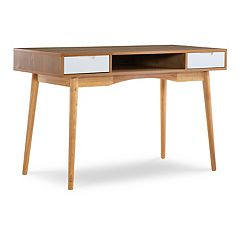 Linon Perry 2-Drawer Desk