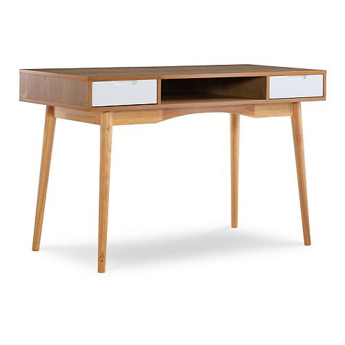 Linon Perry 2-Drawer Desk