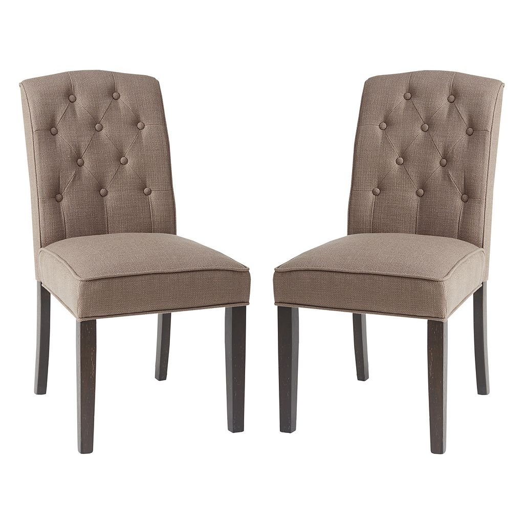 Madison Park Tufted Dining Chair 2-piece Set