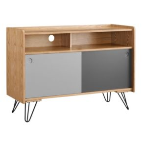 Linon Perry Storage Console Table