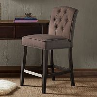 Madison Park Misha Tufted Counter Stool