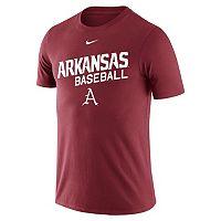 Men's Nike Arkansas Razorbacks Baseball Tee