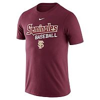 Men's Nike Florida State Seminoles Baseball Tee