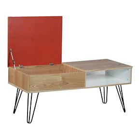 Linon Perry Storage Coffee Table