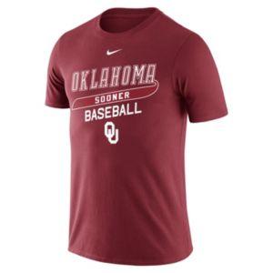 Men's Nike Oklahoma Sooners Baseball Tee