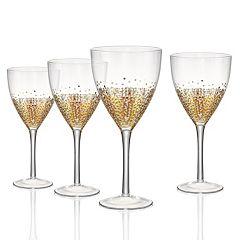 Artland Ambrosia 4 pc Goblet Glass Set