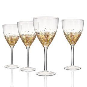 Artland Ambrosia 4-pc. Goblet Glass Set