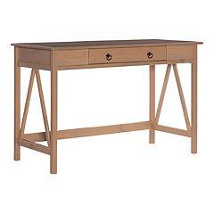 Linon Titian Rustic Desk