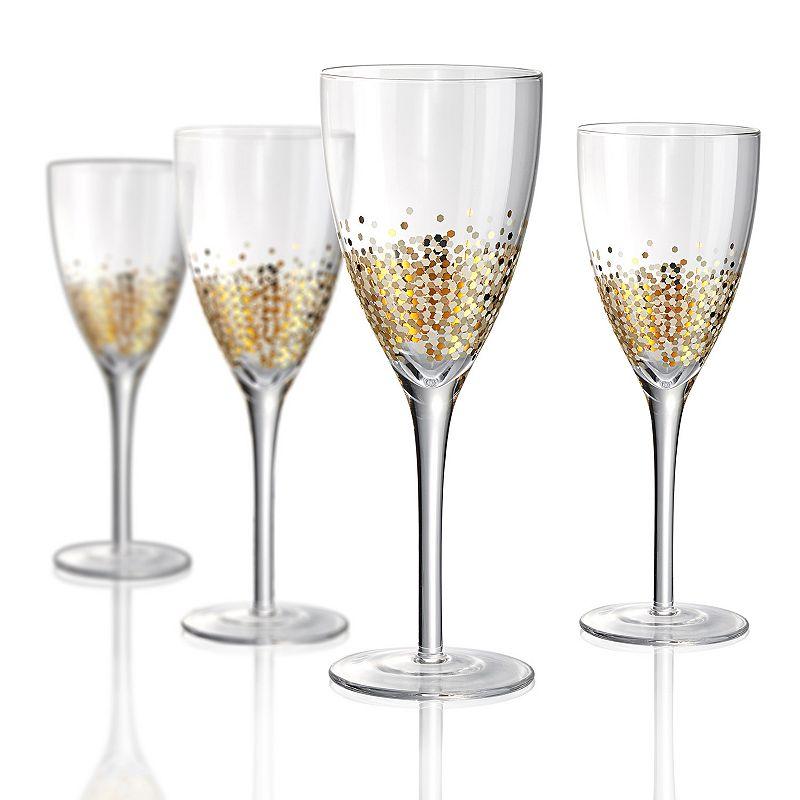 Artland Ambrosia 4-pc. Wine Glass Set, Multicolor