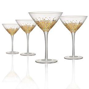 Artland Ambrosia 4-pc. Martini Glass Set