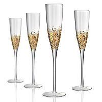 Artland Ambrosia 4 pc Champagne Flute Set