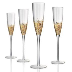 Artland Ambrosia 4-pc. Champagne Flute Set