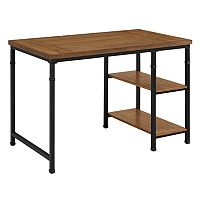 Linon Austin Industrial 2-Shelf Desk
