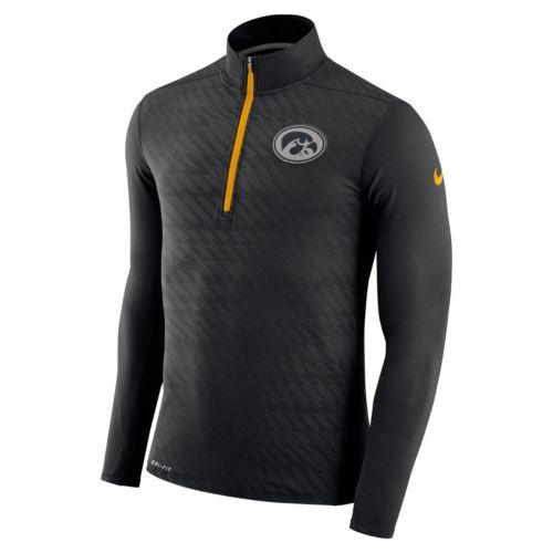 Men's Nike Iowa Hawkeyes Dri-FIT Element Pullover
