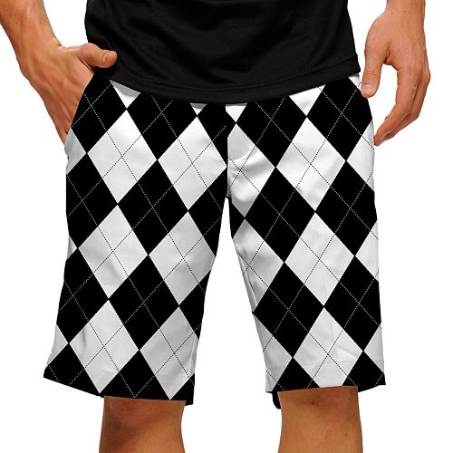 Men's Loudmouth Argyle Golf Shorts