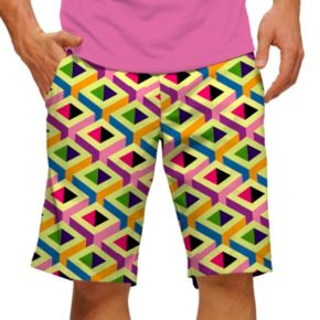 Men's Loudmouth Block Party Golf Shorts