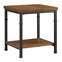 Linon Austin Industrial End Table