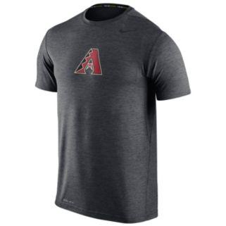 Men's Nike Arizona Diamondbacks Heathered Dri-FIT Tee