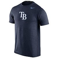 Men's Nike Tampa Bay Rays Heathered Dri-FIT Tee