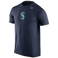 Men's Nike Seattle Mariners Heathered Dri-FIT Tee