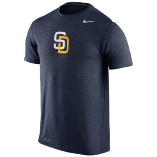 Men's Nike San Diego Padres Heathered Dri-FIT Tee