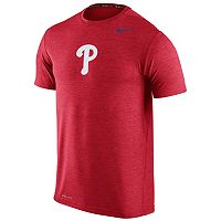 Men's Nike Philadelphia Phillies Heathered Dri-FIT Tee