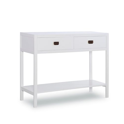 Linon Peggy 2-Drawer Console Table