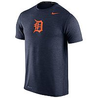 Men's Nike Detroit Tigers Heathered Dri-FIT Tee