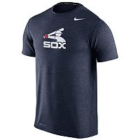 Men's Nike Chicago White Sox Heathered Dri-FIT Tee