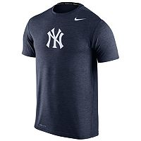 Men's Nike New York Yankees Heathered Dri-FIT Tee